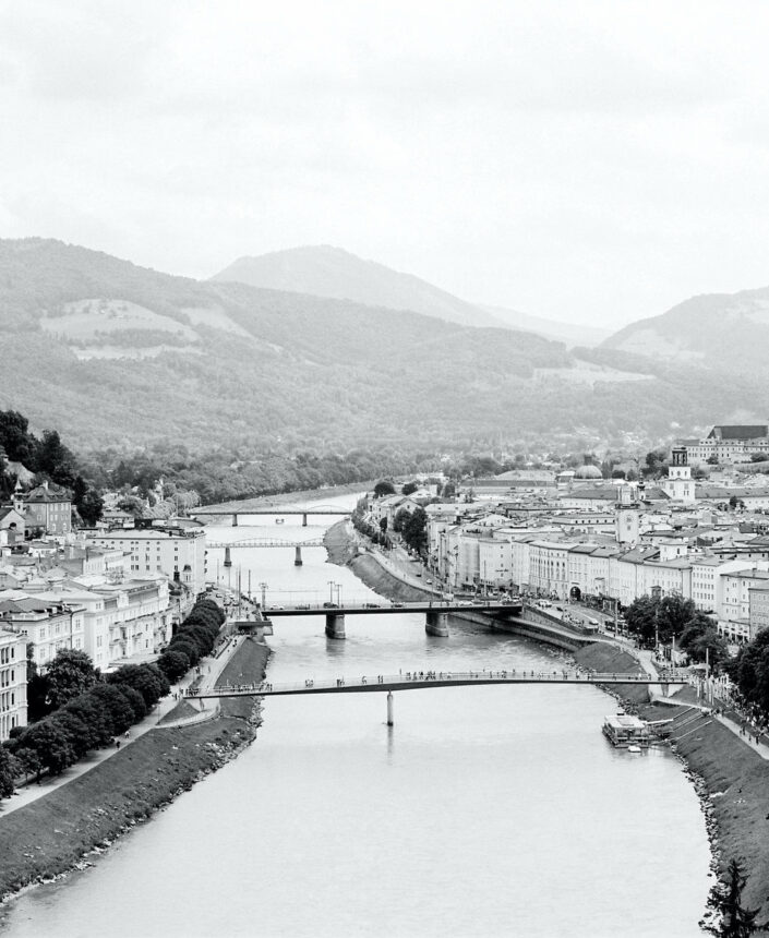 Salzach from above - So much to experience in and around Salzburg. How about the amazing Salzach activities? - (Villa Ivy Salzburg - Salzburg Experience)